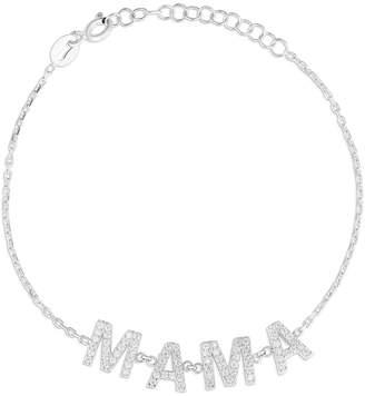 Sphera Milano Silver Cz Mama Bracelet