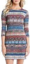 Karen Kane Women's Stripe Body-Con Dress