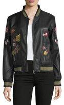 philosophy Floral-Appliqué Bomber Jacket