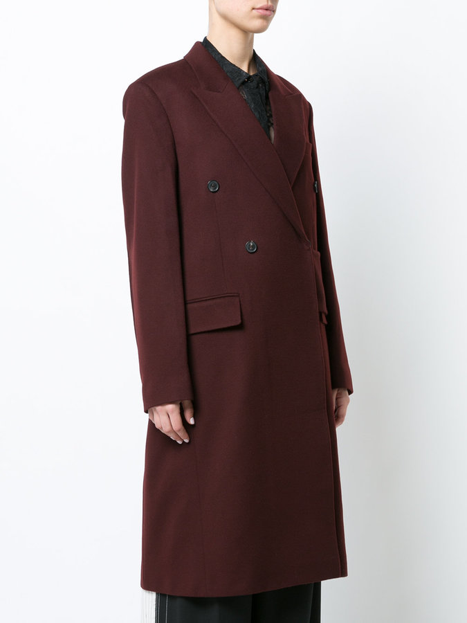 Victoria Beckham double breasted coat