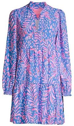 Lilly Pulitzer Winona Long-Sleeve Swing Dress