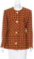Givenchy Vintage Wool Patterned Jacket