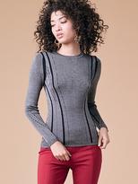 Diane von Furstenberg Long Sleeve Knit Pullover