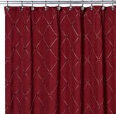 Bed Bath & Beyond Wellington Shower Curtain in Wine