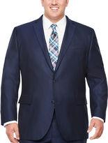 Jf J.Ferrar JF Stripe Classic Fit Stretch Suit Jacket-Big and Tall