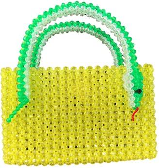 Susan Alexandra Green Plastic Handbags