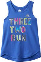 adidas Girls 4-6x Graphic Tank Top