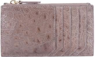 Nancy Gonzalez Crocodile Zip Card Holder