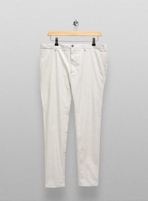 Topman BIG & TALL Light Grey Check Trousers*