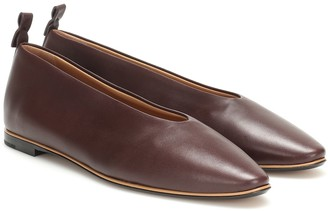 Bottega Veneta Almond leather ballet flats
