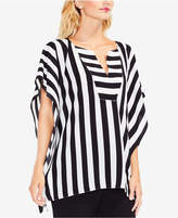 Vince Camuto Striped Poncho Tunic