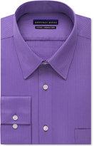 Geoffrey Beene Men's Fitted Wrinkle Free Textured Sateen Dress Shirt