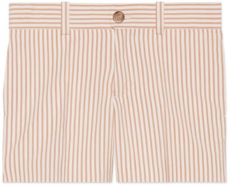Gucci Children's striped silk cotton short