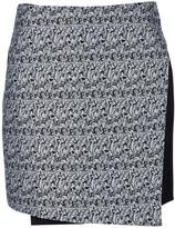 Carly Hunter 'Distortion Wrap' skirt