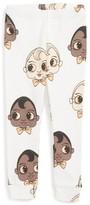 Mini Rodini Infant Girl's Babies Graphic Leggings