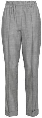 Helmut Lang Wool And Mohair-blend Straight-leg Pants