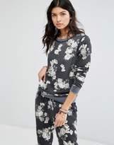 Rip Curl Dark Floral Sweatshirt