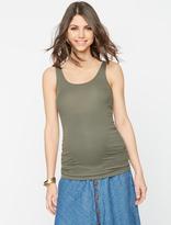 A Pea in the Pod Rib Knit Maternity Tank Top