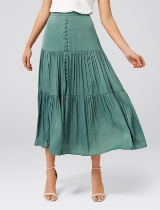 Ever New Lillie Tiered Maxi Skirt