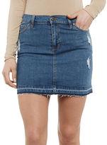 Bardot Adrian Denim Mini Skirt