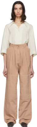 Lemaire SSENSE Exclusive Pink Baggy Jeans