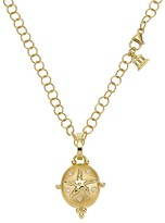 Temple St. Clair 18K Yellow Gold Small Sea Star Locket with Diamonds
