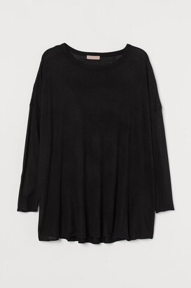 H&M H&M+ Fine-knit jumper