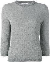 Max Mara herringbone knit - women - Viscose/Polyamide - M