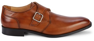 Saks Fifth Avenue Monk-Strap Leather Dress Shoes