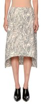 Marni Beardsley-Print Asymmetric Skirt, White/Multi