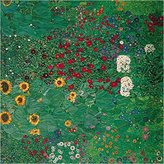 Gustav 1art1 Posters Klimt Poster Art Print - Cottage Garden With Sunflowers, 1905-06 (27 x 27 inches)