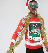 Brave Soul TALL Holidays Elfie Sweater