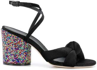 Marco De Vincenzo rainbow heel sandals