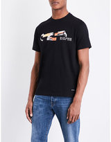 Ps By Paul Smith All Day Breakfast Cotton-jersey T-shirt
