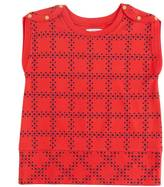 Nautica Girls' Printed Ponte Top (8-16)