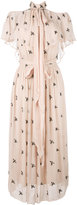 Temperley London Starling midi dress - women - Polyester/Viscose - 10