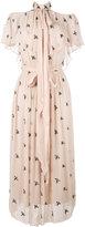 Temperley London Starling midi dress - women - Polyester/Viscose - 6