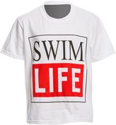 AMBRO Manufacturing Youth Unisex Short Sleeve Swim Life Swim Tee Shirt 8147909
