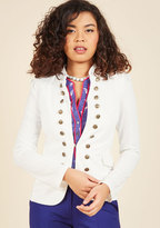 ModCloth I Glam Hardly Believe It Jacket in White in S