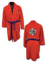 Toy Zany Dragon Ball Z Goku Uniform Bath Robe