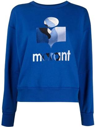 Etoile Isabel Marant Logo-Print Sweatshirt