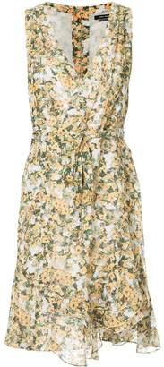 Isabel Marant side tie V-neck dress
