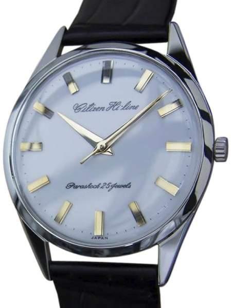 Citizen Hi Line DSI48 Stainless Steel Manual Vintage 37mm Mens Watch