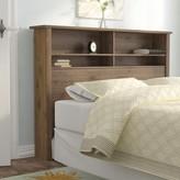 Andover Mills Leeds Bookcase Headboard Size: Queen
