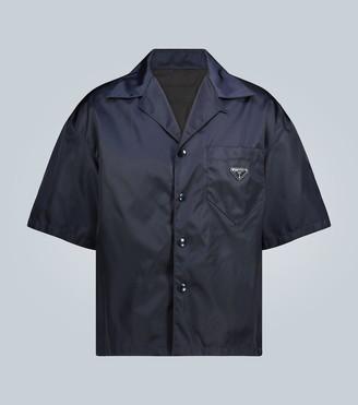 Prada Nylon short-sleeve shirt
