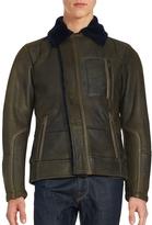 Porsche Design Men's Long Sleeve Cotton Blend Jacket