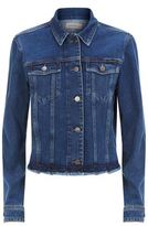 Calvin Klein Jeans Raw Hem Denim Jacket
