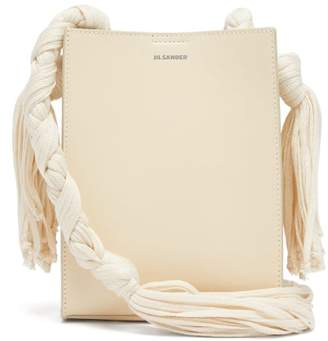 Jil Sander Tangle Small Knotted-strap Leather Bag - Womens - Beige