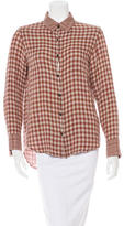 Rag & Bone Long Sleeve Button-Up Top