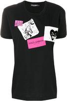 Dolce & Gabbana patch T-shirt